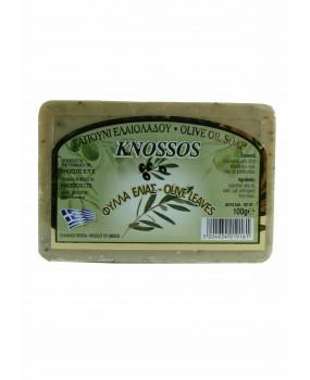 Olive Oil Soap Olive Leaves
