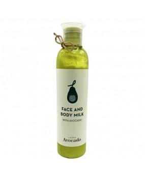 Face & Body Milk Avocado 250ml Lappa Avocado