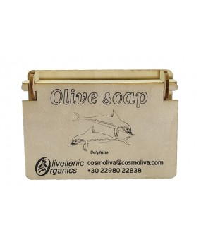 Olive Scented Soap Dolphins 90gr