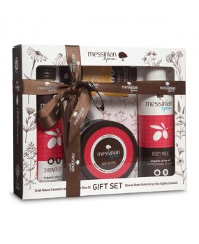 Gift Set Pomegranate & Honey No1  messinian spa
