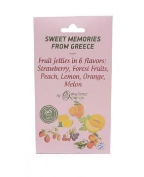 Fruit Jellies in 6 Flavors