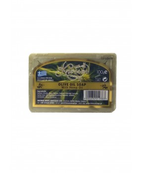 Olive Oil Soap with Hemp Oil 100gr