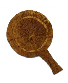 Olivewood Round Cutting Board for Pizza