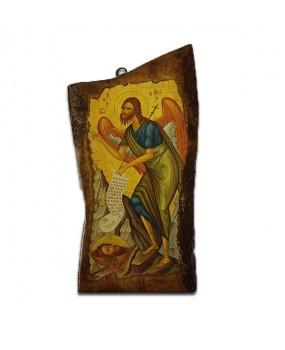 Orthodox Icon on Olivewood